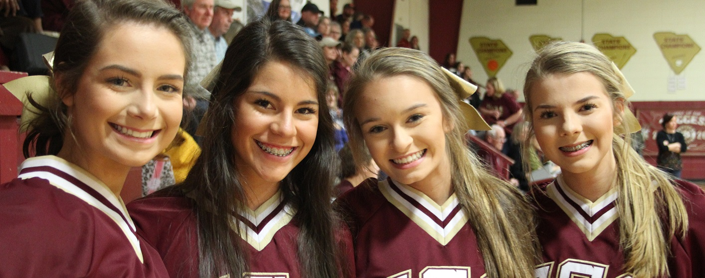 Cheerleaders Bring Smiles To Our Faces