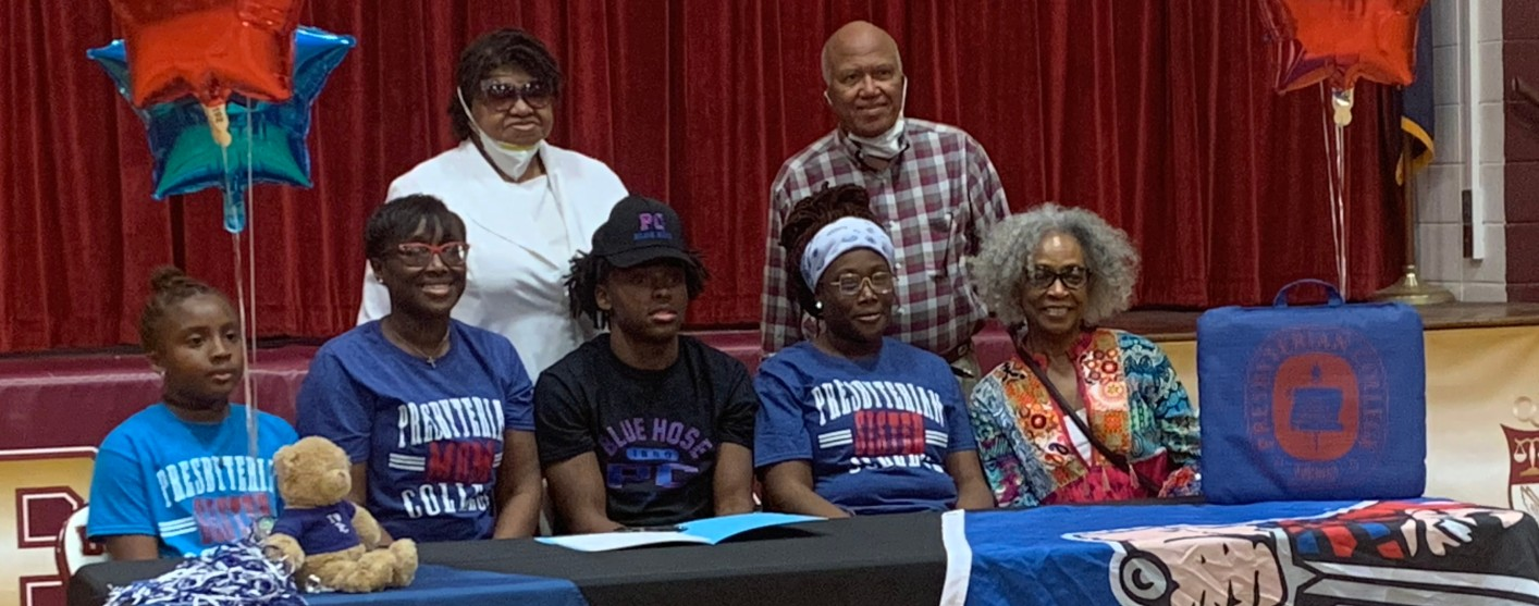 G Wilder Signs Commitment To Presbyterian College