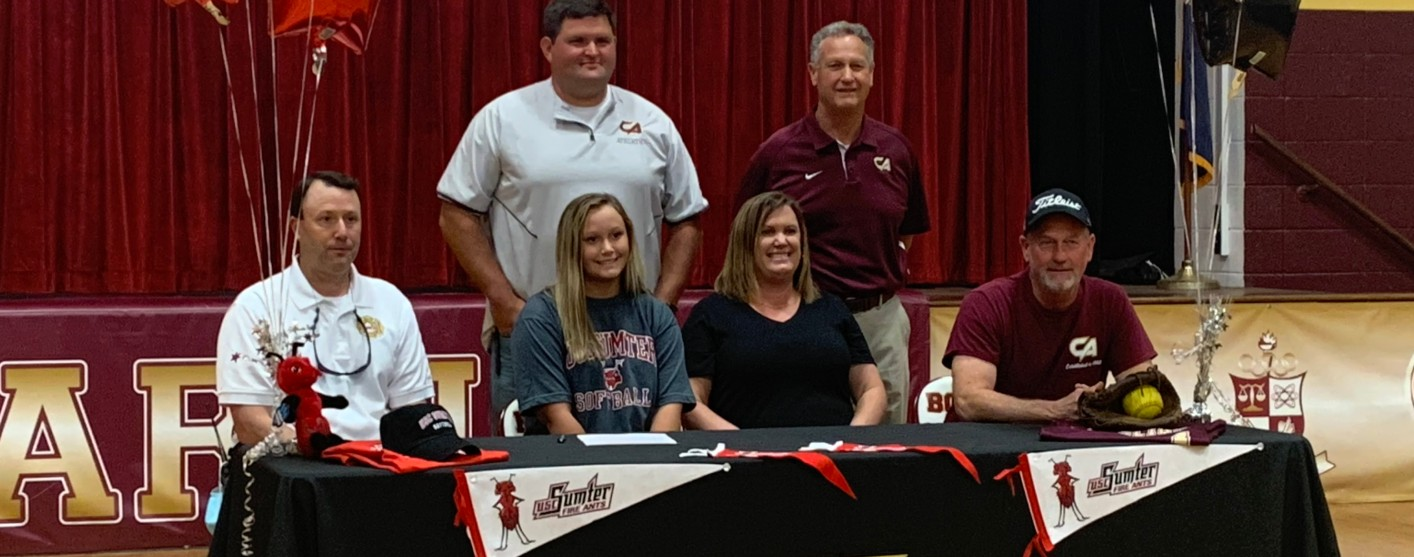 Jaimee Epps Signs Intent To USC Of Sumter